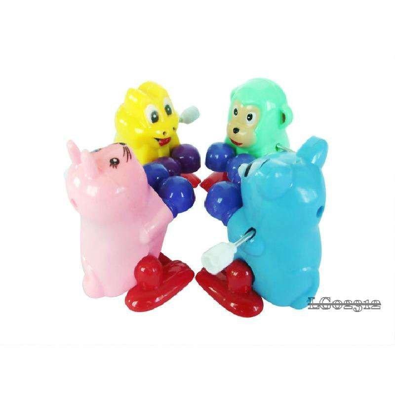 会翻跟头的小青蛙白兔猴子松鼠/可爱的发条玩具/益智玩具