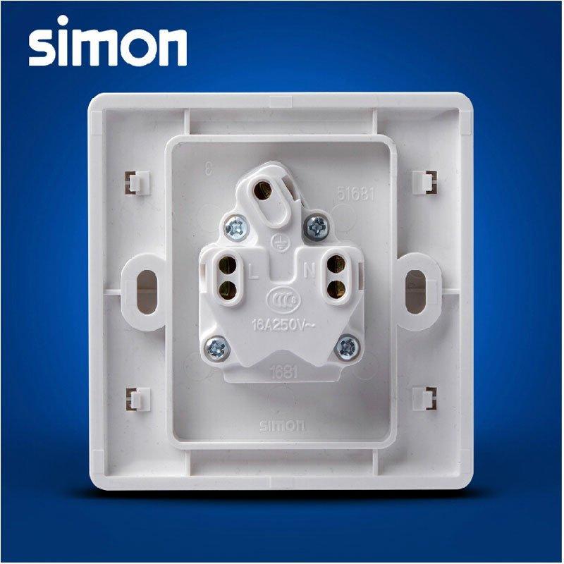 西蒙正品开关插座面板55系列16a空调插座面板86型家用