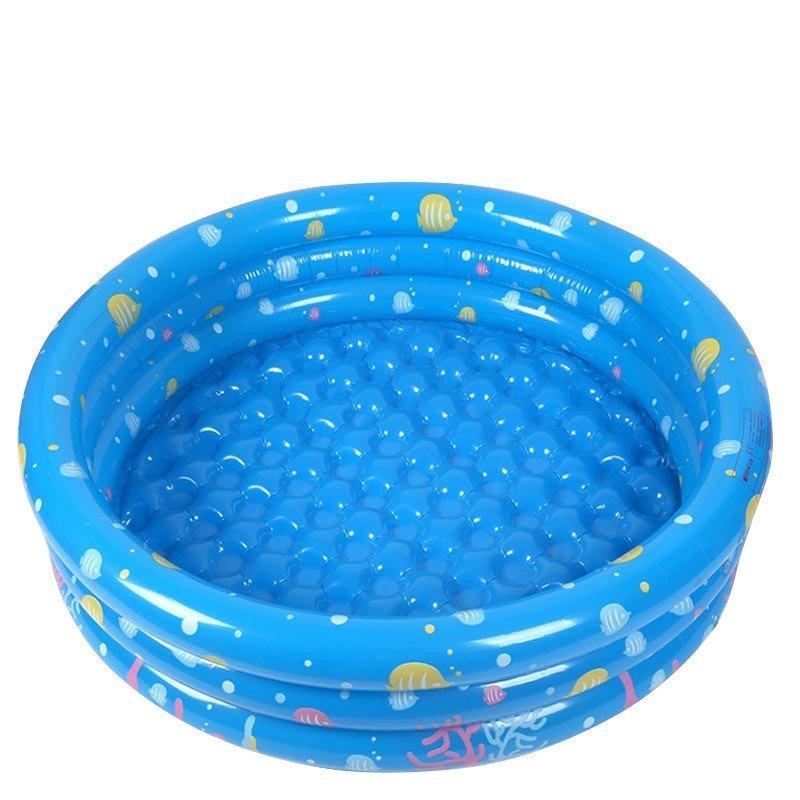 合嘉乐充气海洋球池送海洋球 婴幼儿童宝宝 婴儿游泳池 玩具球池波波
