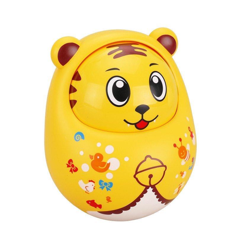 春天宝宝儿童玩具动物点头q萌不倒翁婴儿玩具小老虎ct