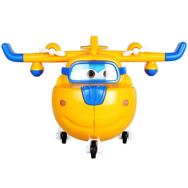 奥迪双钻 auldey 儿童送礼玩具变形机器人超级飞侠 感应发声机多多710