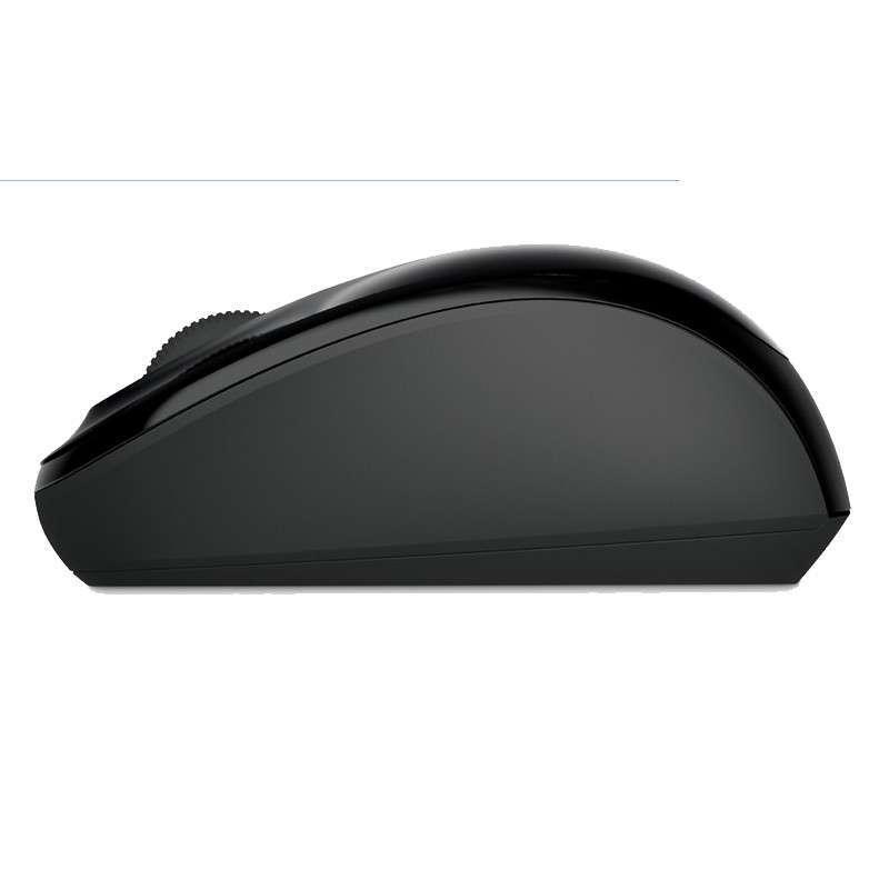 microsoft/微软 无线蓝影便携鼠标3500(钢琴黑)