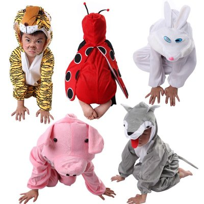 动物表演服装国庆幼儿园演出舞台服饰