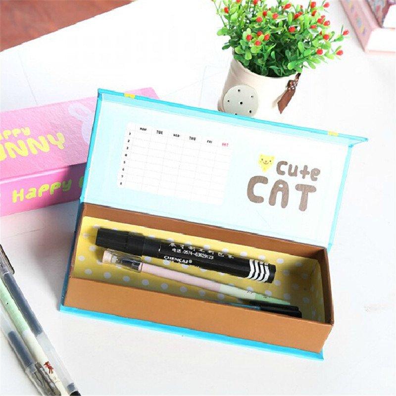 文博创意韩版卡通动物铅笔盒
