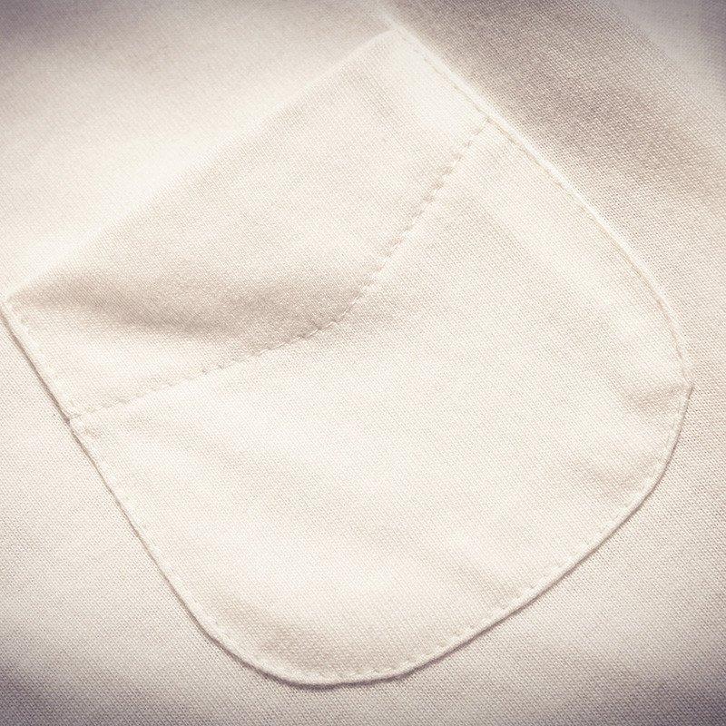 克林科斯 t286f40*夏季日系班服男t恤复古透气男士纯棉短袖t恤修身