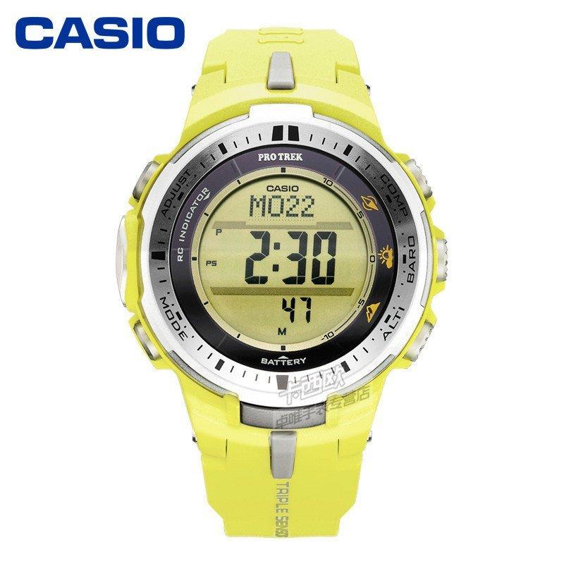 卡西欧casio手表 prw系列多功能登山男表