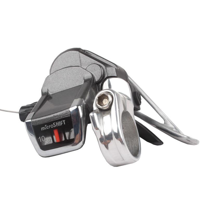 山地自行车分体指拨m610/ts83-10变速器10速/20速/30速变速拨杆手柄带
