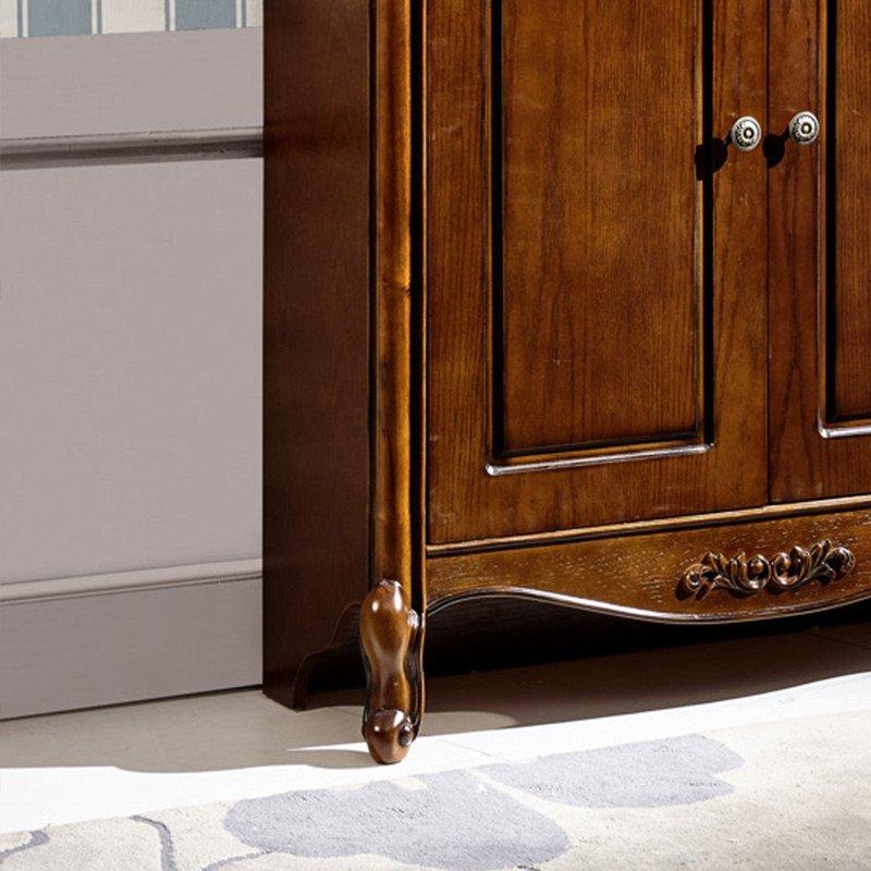 欧式实木鞋柜玄关柜