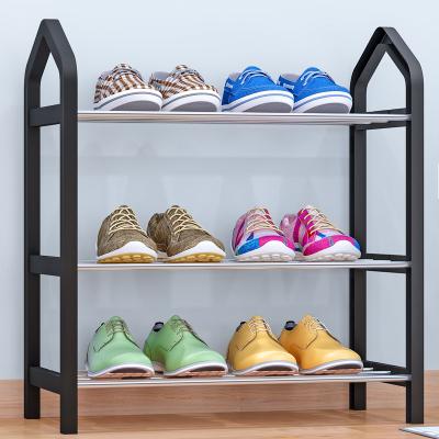 艾格调简易鞋架 多层家用收纳鞋柜简约现代经济型组装防尘鞋架子鞋架K323