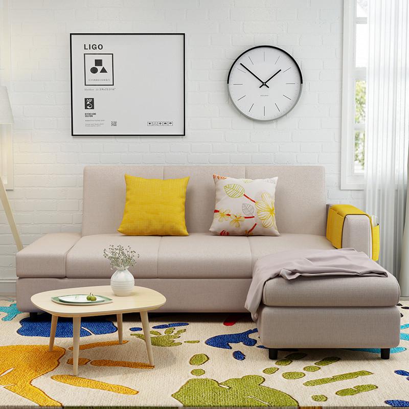 亮彩 沙发 小沙发 小户型沙发 可拆洗沙发 布艺沙发 客厅沙发 实木