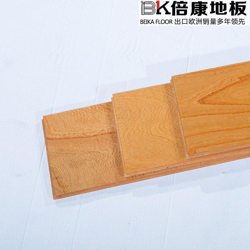倍康地板 多层实木复合地板 榆木浮雕 大板健康环保dc