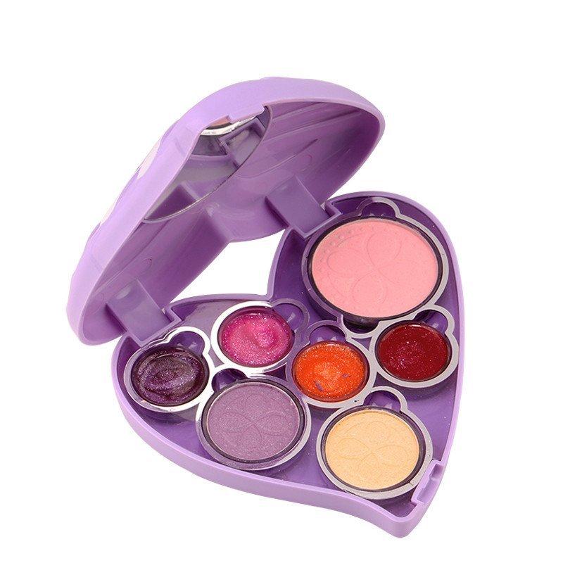 迪士尼小公主苏菲亚彩妆盒儿童化妆品彩妆套装玩具 女孩过家家益智