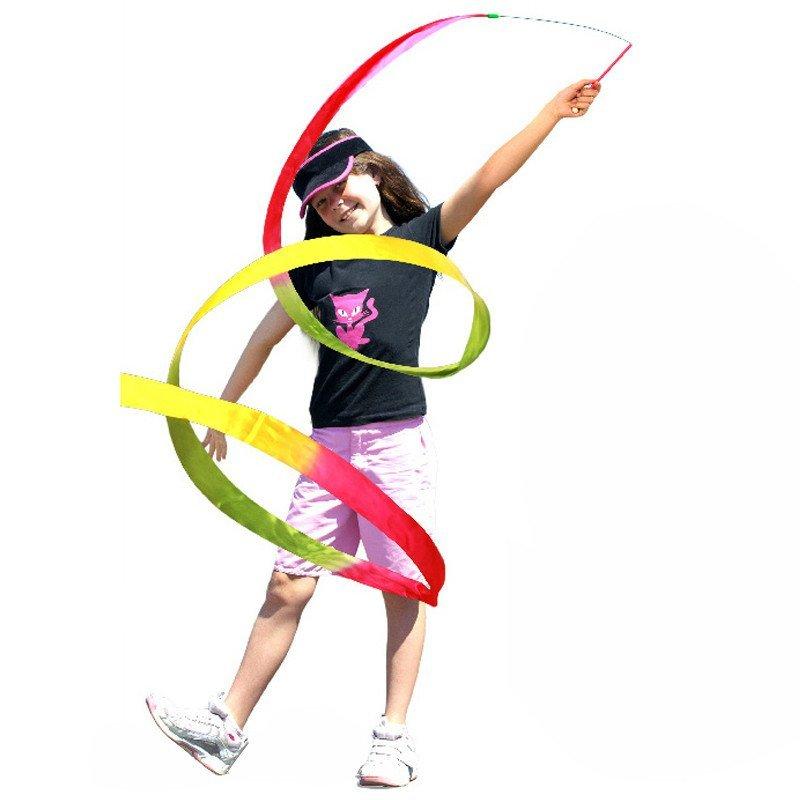 玩具乐巢 艺术飘带儿童体操玩具舞蹈表演道具彩带飘带