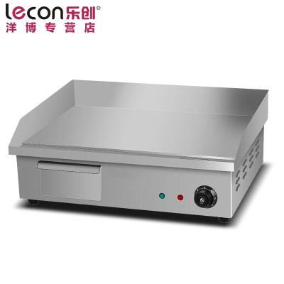 lecon/乐创洋博 商用电扒炉 818台湾手抓饼机器 铁板鱿鱼机器铜锣烧机铁板烧设备