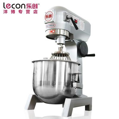 lecon/乐创洋博 商用和面机 20升搅拌机 鲜奶机 厨师机多功能揉面机搅拌机打蛋器 打面机 大型面点搅拌机打蛋机