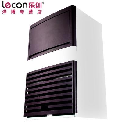 lecon/乐创洋博 商用大型制冰机 奶茶店酒吧饮料 全自动 80kg公斤方冰 奶茶店设备