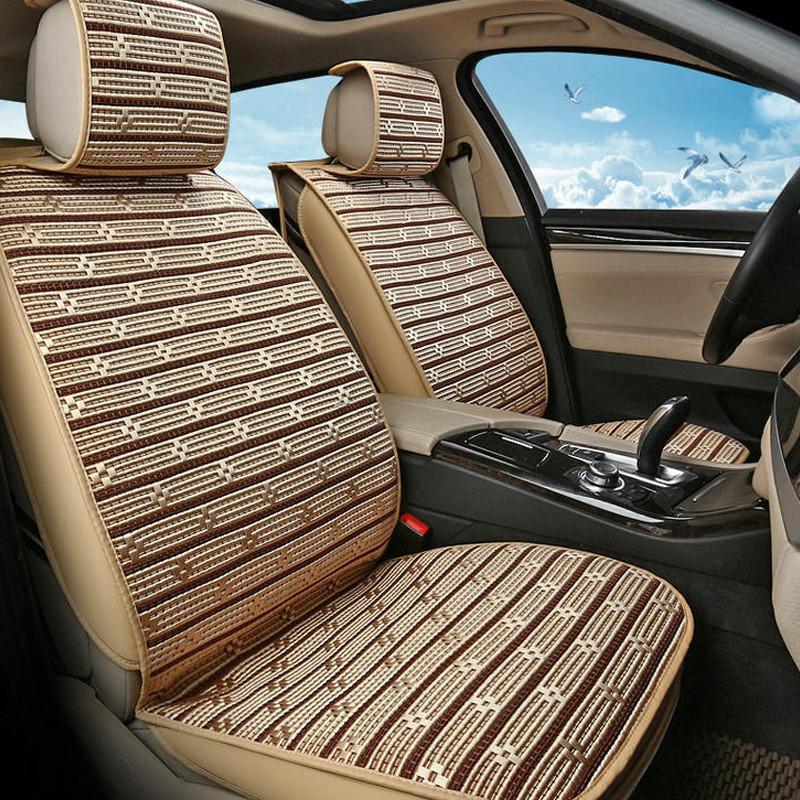 汽车夏季全冰丝坐垫座套 汽车用品通用夏季座垫凉垫