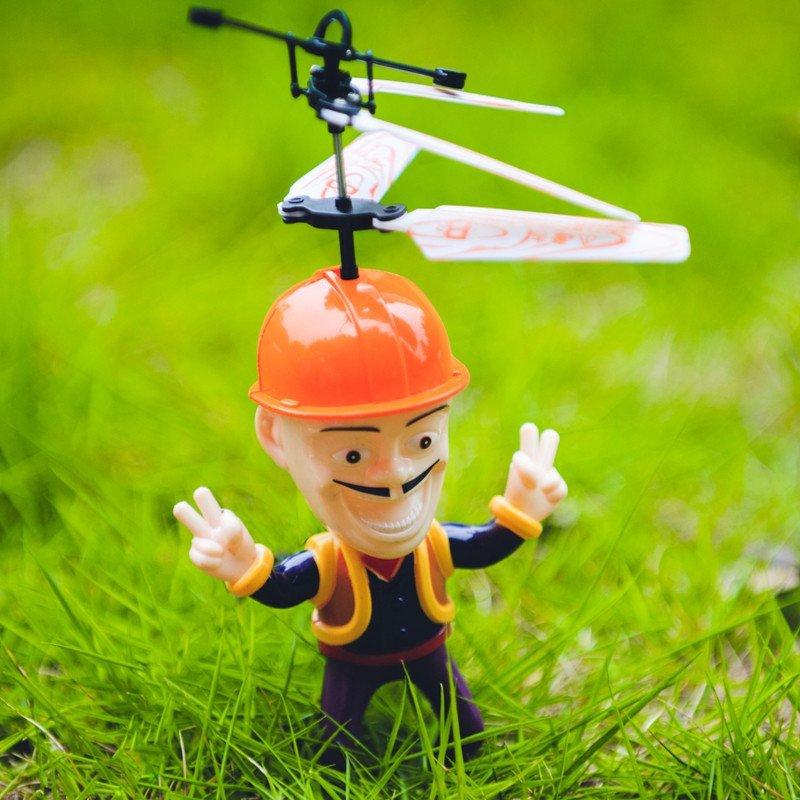 恒翔慧鹰遥控飞机直升机 愤怒的小鸟飞机 感应飞机 感应悬浮直升机 熊