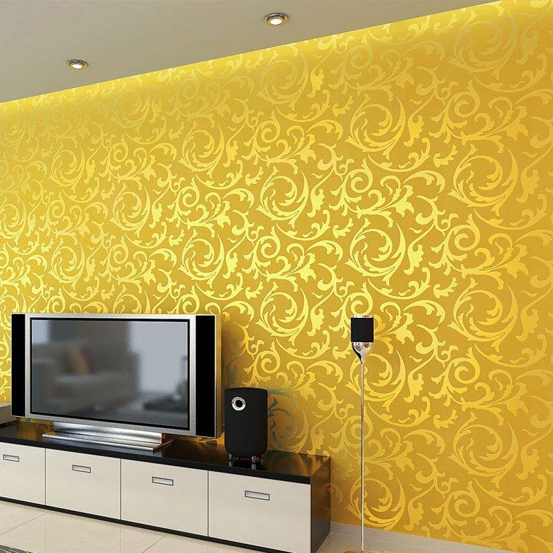 金色油漆装修效果图