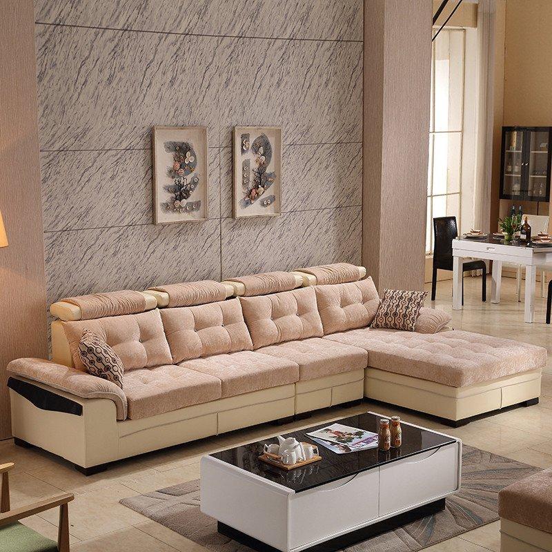 小米福欧式真皮沙发组合头层牛皮沙发大小户型客厅沙发简欧皮沙发