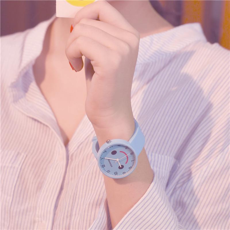 2017新款潮流简约女生小清新可爱少女款中学生手表韩国原宿风