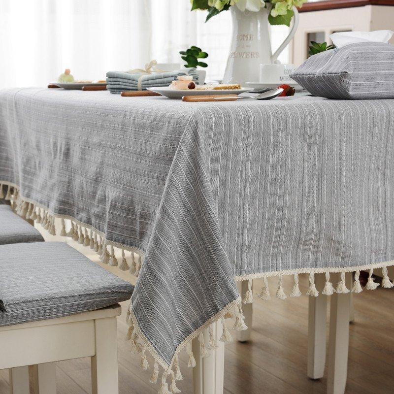 日式文艺小清新布艺桌布餐布