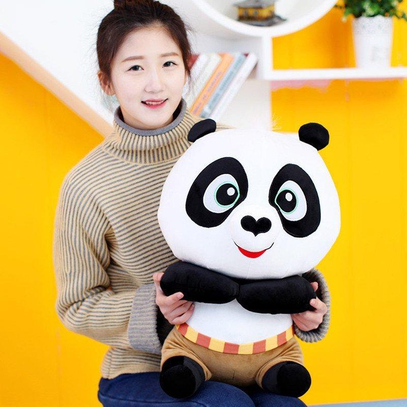 正版功夫熊猫3 q版阿宝毛绒玩具 超大号公仔玩偶娃娃创意520情人节