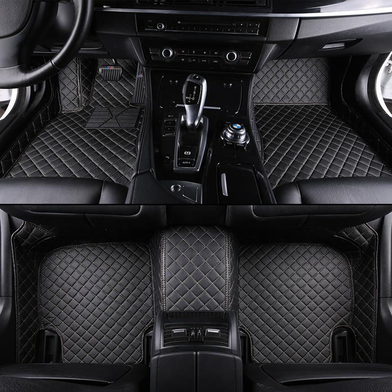 卡卡西 专车专用定制大包围汽车脚垫纯色三件套轩逸卡罗拉凯越朗动