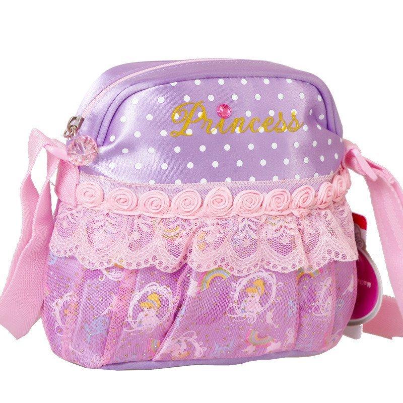迪士尼(disney)幼儿园手提包学前班宝宝可爱小书包斜