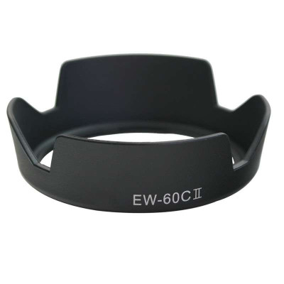 EW-60C蓮花形遮光罩 佳能58mm 遮光鏡 適佳能1300D 1500D 3000D 18-55mm 相機單反鏡頭