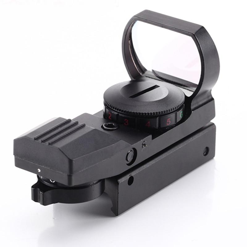 全息瞄准器 快速寻鸟镜 无倍数四种变点光学瞄准镜 内红点绿点 内反射