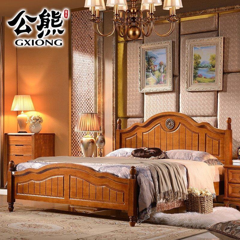 5米1.8米单双人床现代北欧风格卧室大婚床