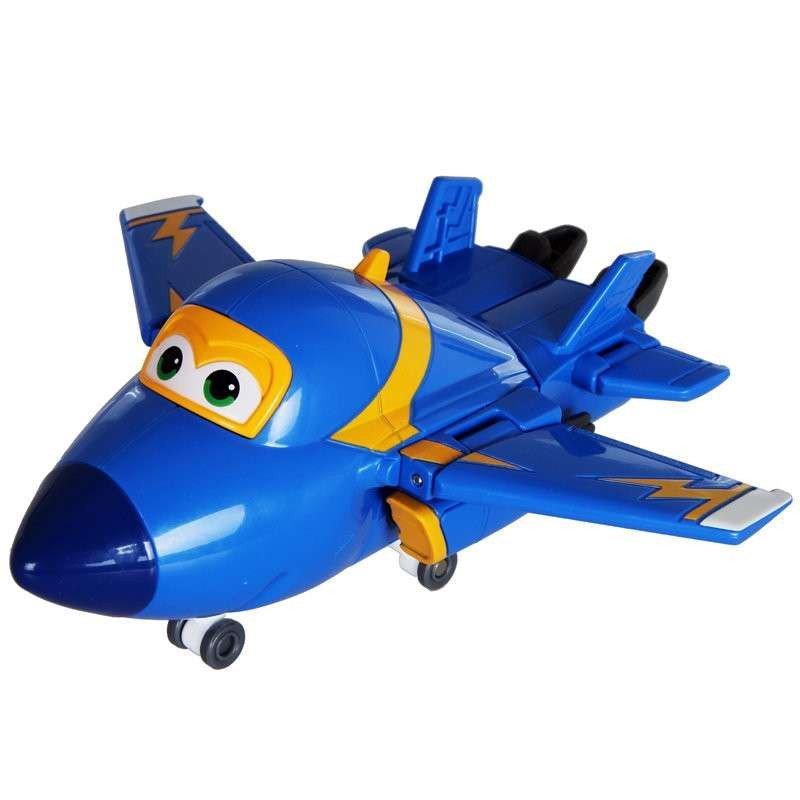 奥迪双钻 超级飞侠公仔玩偶 儿童变形玩具 变形机器人小飞机 变形机器