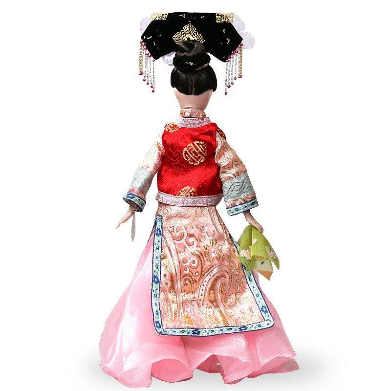 可儿娃娃 中国公主清朝 明珠格格满汉清朝服饰 中国公主系列 古装
