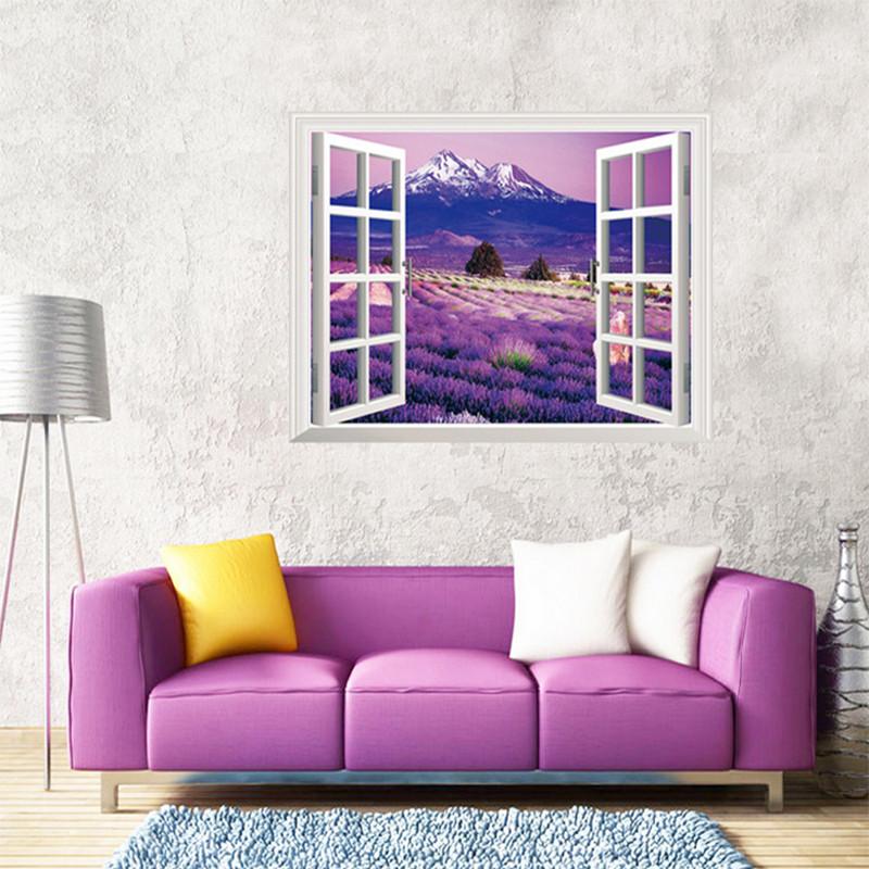 恋美 卧室客厅房间3d立体感墙贴纸 床头厨房墙壁电视墙贴画 温馨浪漫