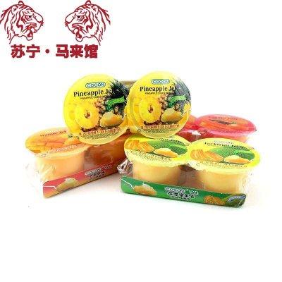 馬來西亞館 可康/Cocon 果味果凍(添加芒果果肉)芒果味 236g*1套
