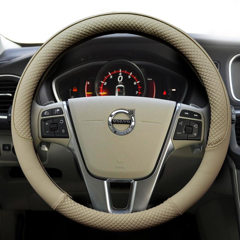 洛玛 沃尔沃汽车专用方向盘套 沃尔沃xc60/s60l/v40/v60/xc90/s40