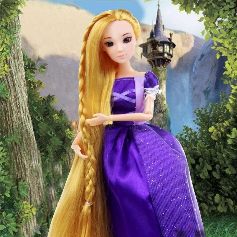 芭比娃娃套装礼盒儿童玩具女孩洋娃娃仿真娃娃讲故事