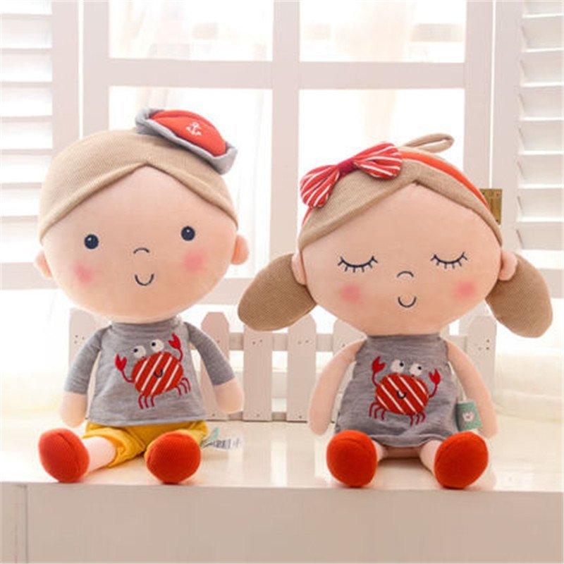 萌萌猪 毛绒玩具可爱卡通情侣海贝尔公仔玩偶布娃娃一