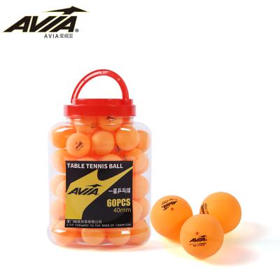 AVIA愛威亞一星三星乒乓球訓練乒乓球比賽專用1星3星桶裝乒乓球