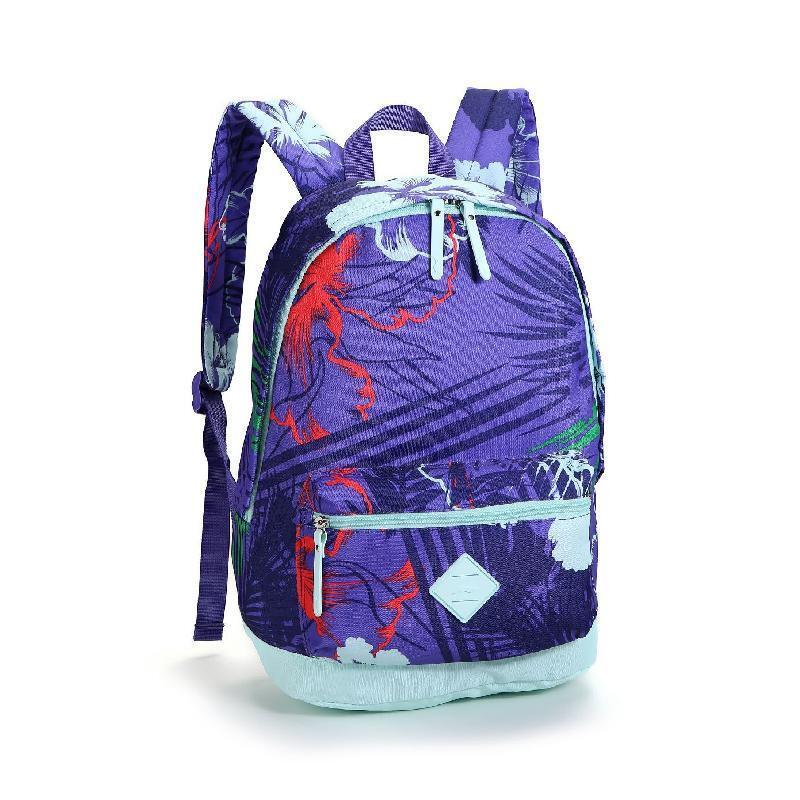 李宁运动活力女式时尚双肩包 运动背包 彩色书包 absl