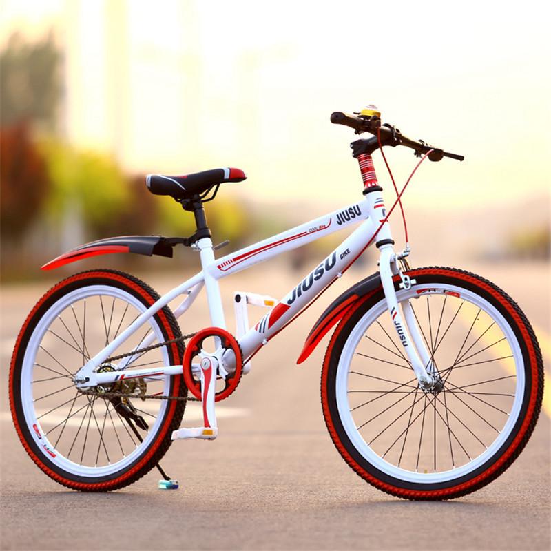 儿童自行车20寸 22寸小孩山地车单车男 女孩学生7-14岁单速车
