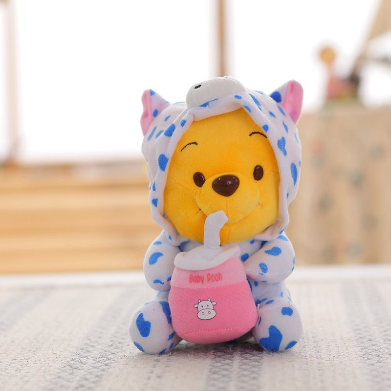 手工布娃娃小熊的做法图解