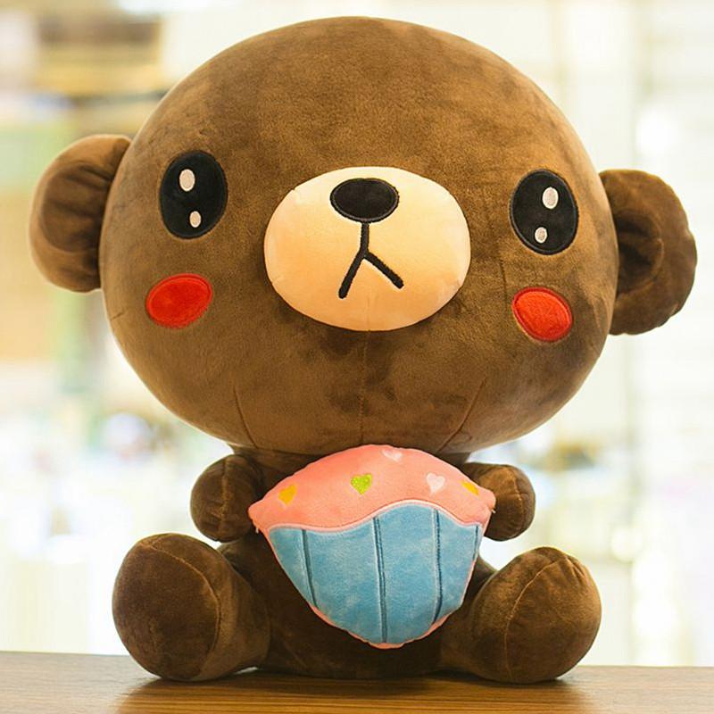 朵啦啦 坐姿可爱熊 毛绒玩具布娃娃玩偶公仔 生日礼物
