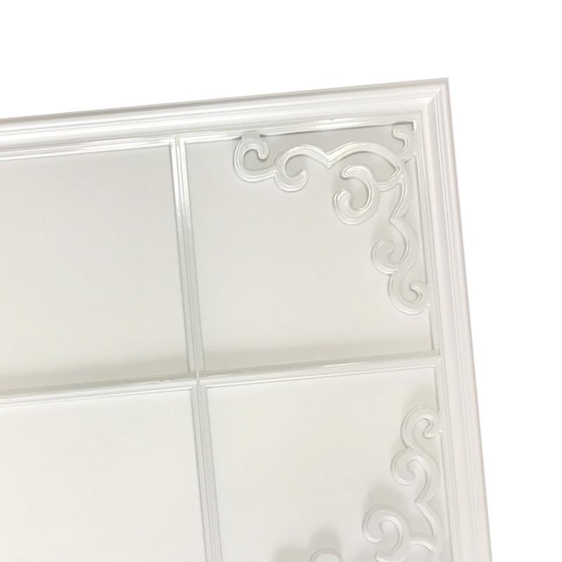 洛克菲勒集成吊顶灯铝扣板led平板灯客厅欧式简约雕花
