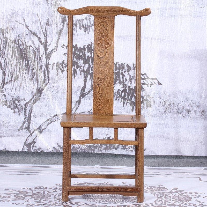 红木古典家具 鸡翅木餐椅