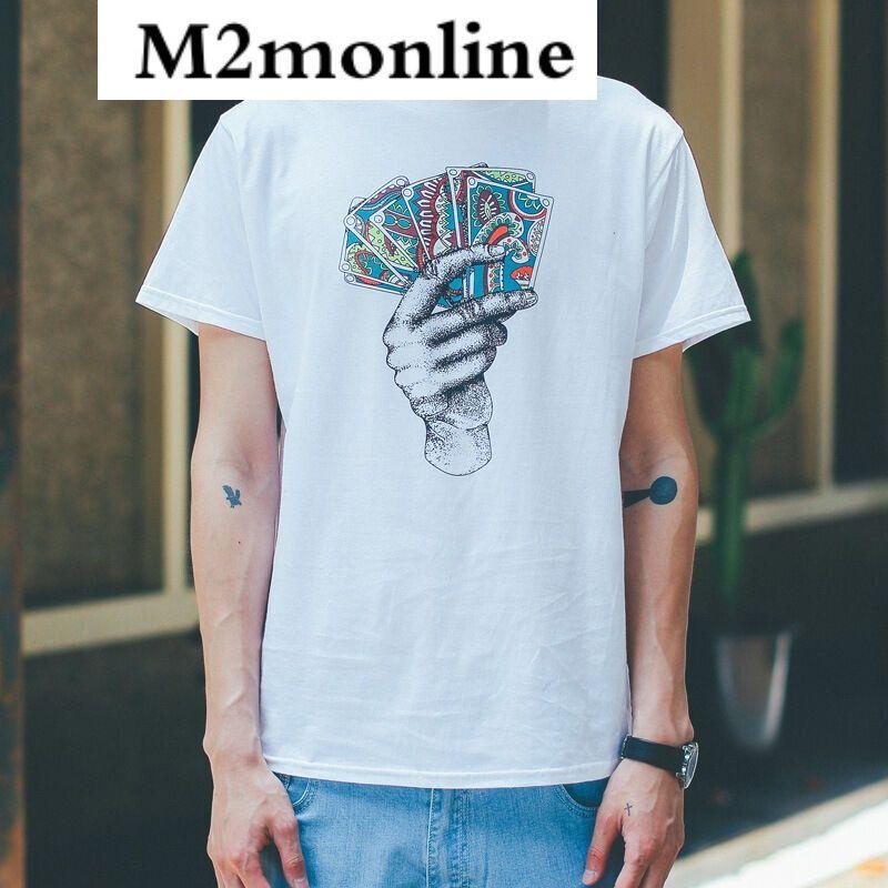 m2monline扑克牌手绘卡通情侣装班服队服学生男女情侣
