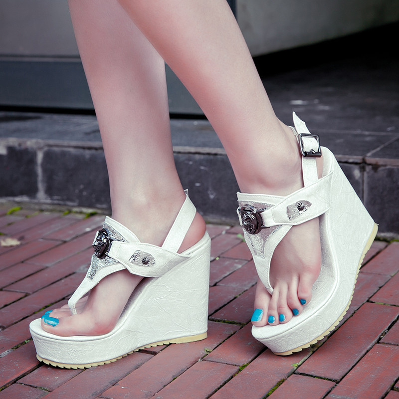 凉鞋女韩国厚底