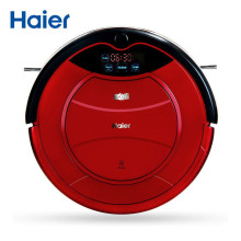 Haier/ 海尔探路者 SWR-T322(玫瑰红)家用湿拖擦地机 智能清洁吸尘自动充电扫地机器人