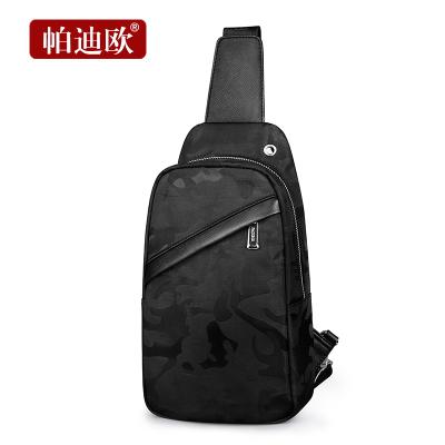帕迪欧胸包男士腰包2020新款韩版潮单肩包斜挎包商务多功能休闲包
